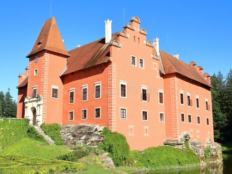 Cervena Lhota, Tsjechische Republiek stock foto's