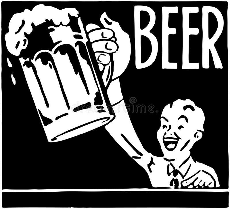 Cerveza 2 stock de ilustración