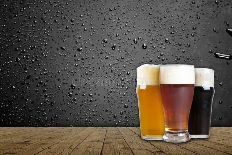 Cerveza americana del arte fotografía de archivo