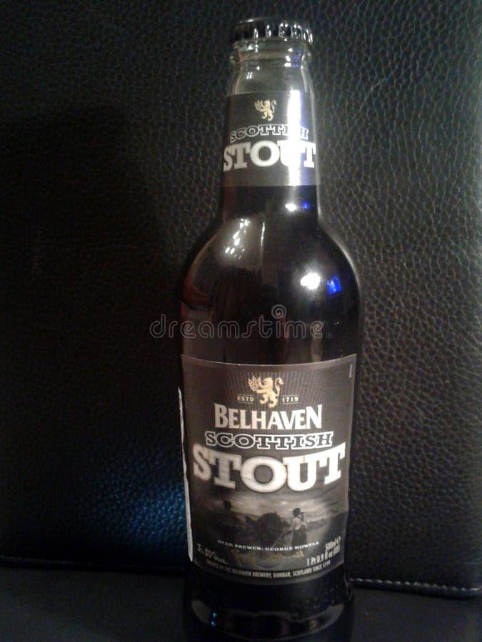 Cerveza Belhaven, cerveza de malta escocesa imágenes de archivo libres de regalías