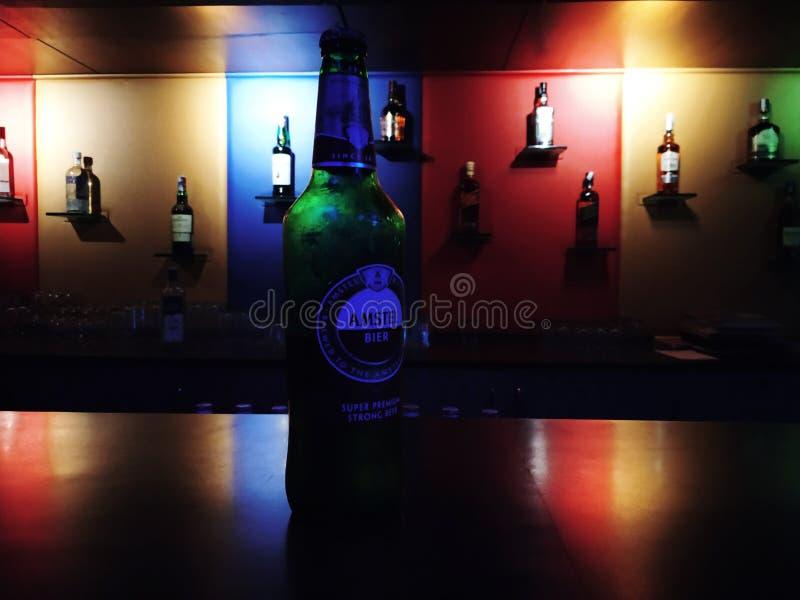 Cerveza de Amstel fotos de archivo