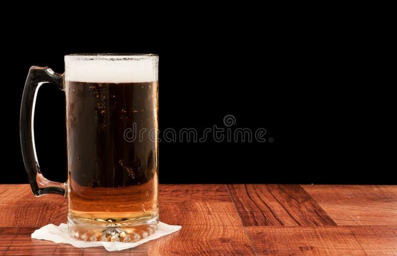 Cerveza de barril ligera fotos de archivo