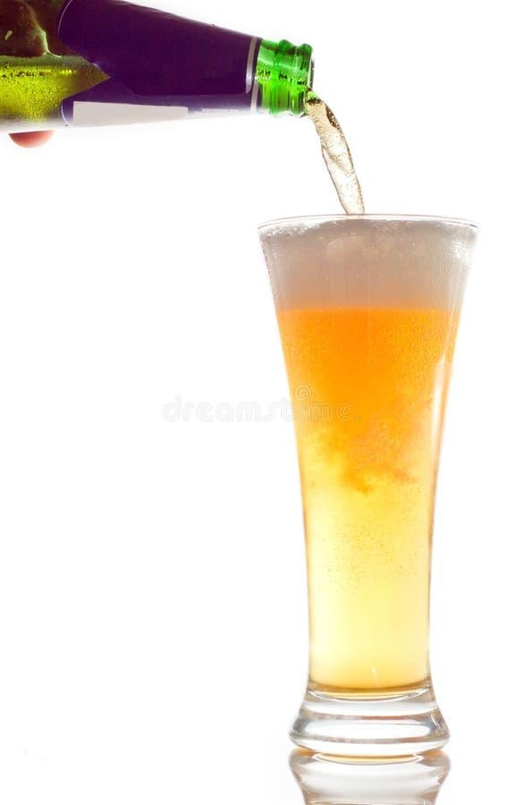 Cerveza de colada imagen de archivo libre de regalías
