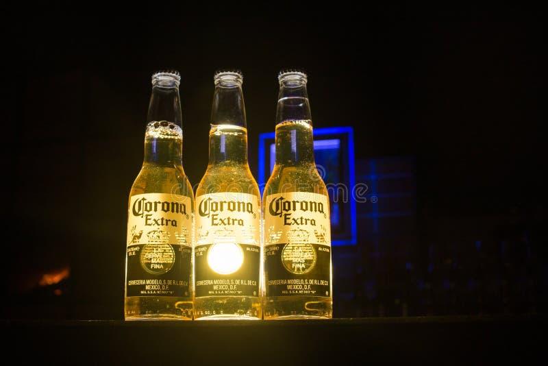 Cerveza de Corona Extra fotografía de archivo libre de regalías