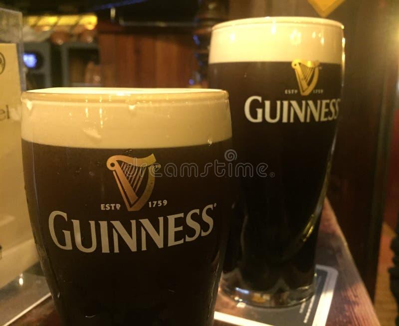 Cerveza de Guinness imagen de archivo libre de regalías