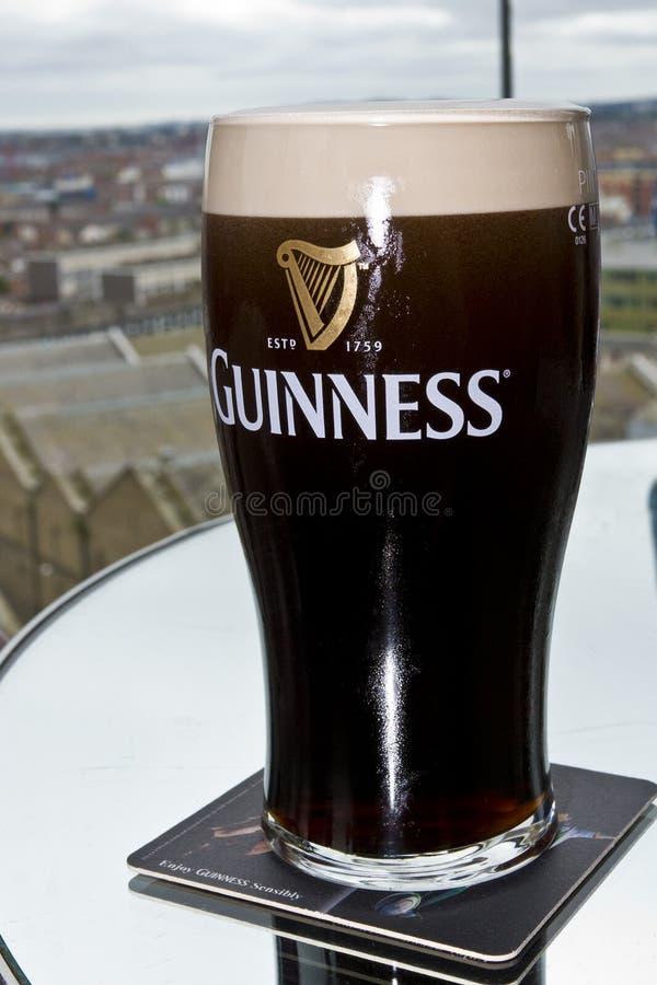 Cerveza de Guinness foto de archivo libre de regalías