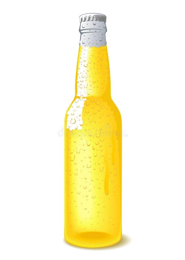 Botella de cerveza en la vagina