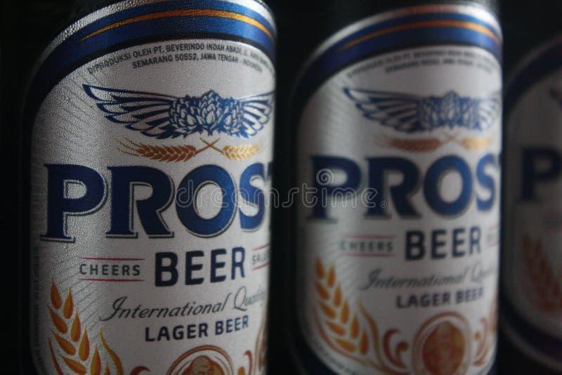 Cerveza de Prost imagen de archivo libre de regalías