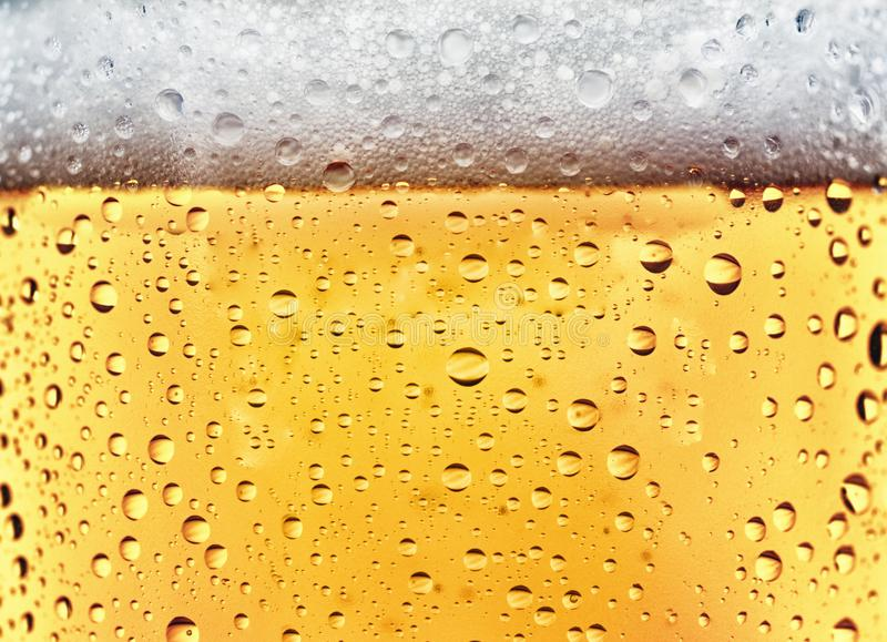 Cerveza de restauración fotografía de archivo