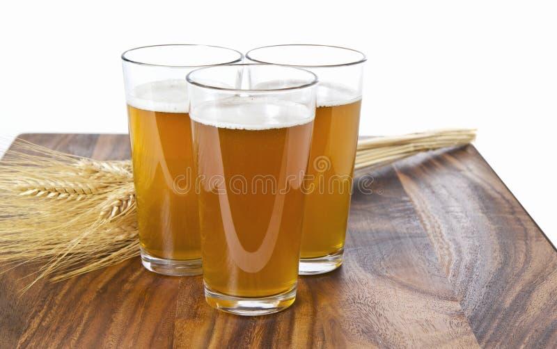 Cerveza del trigo fotos de archivo libres de regalías