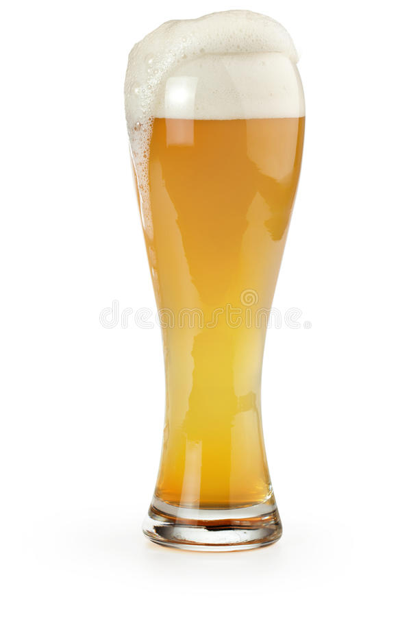 Cerveza del trigo imágenes de archivo libres de regalías