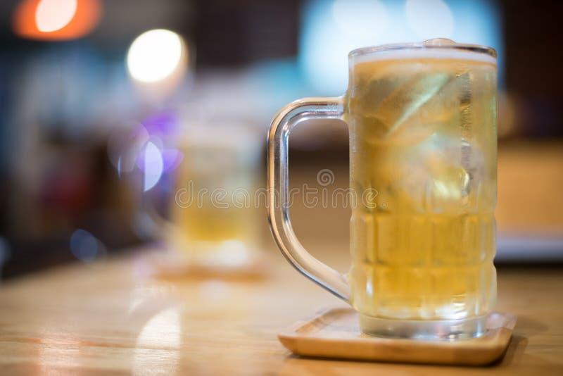 Cerveza del vidrio foto de archivo libre de regalías