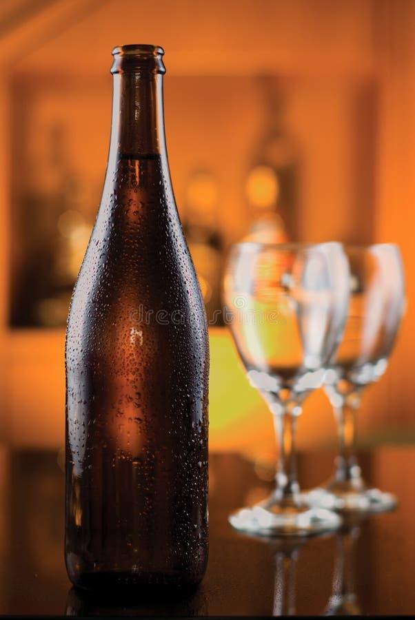 Cerveza elegante fotografía de archivo
