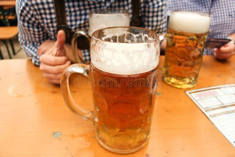 Cerveza en Munich fotografía de archivo
