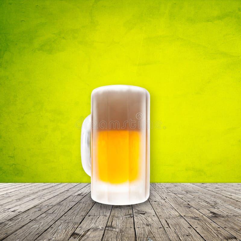 Cerveza fría fresca libre illustration