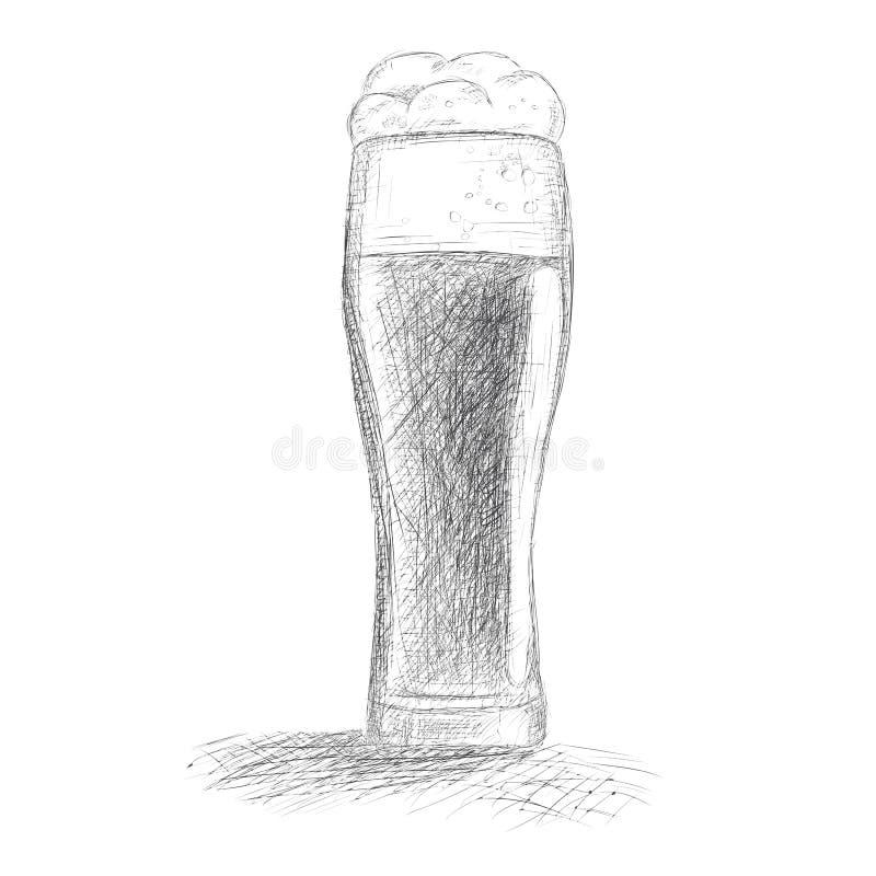 Cerveza incompleta libre illustration