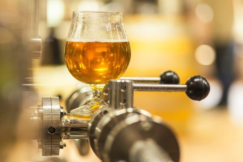 Cerveza ligera industrial foto de archivo libre de regalías
