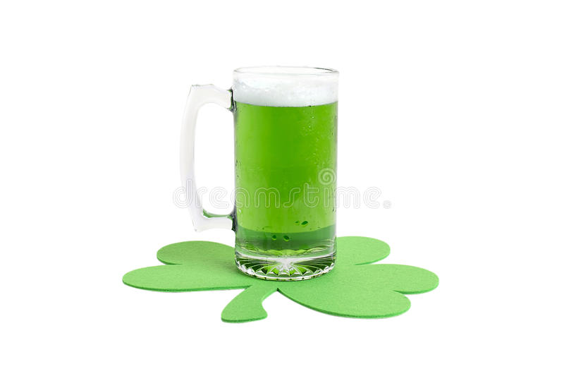 Cerveza verde imagen de archivo