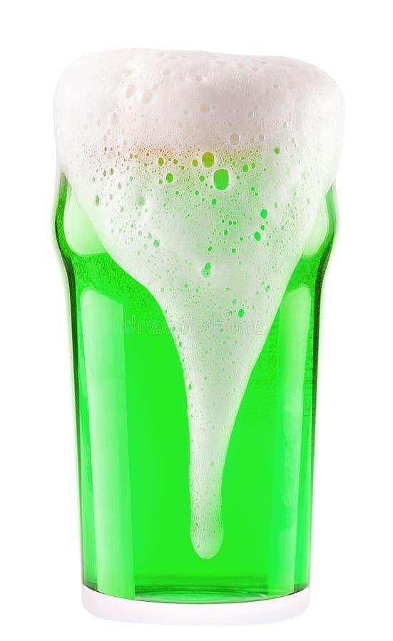 Download Cerveza Verde Aislada En Un Blanco Foto de archivo - Imagen de burbujas, cerveza: 42443022