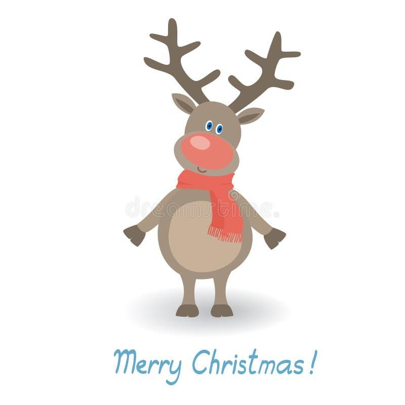 Cervi di Natale illustrazione vettoriale