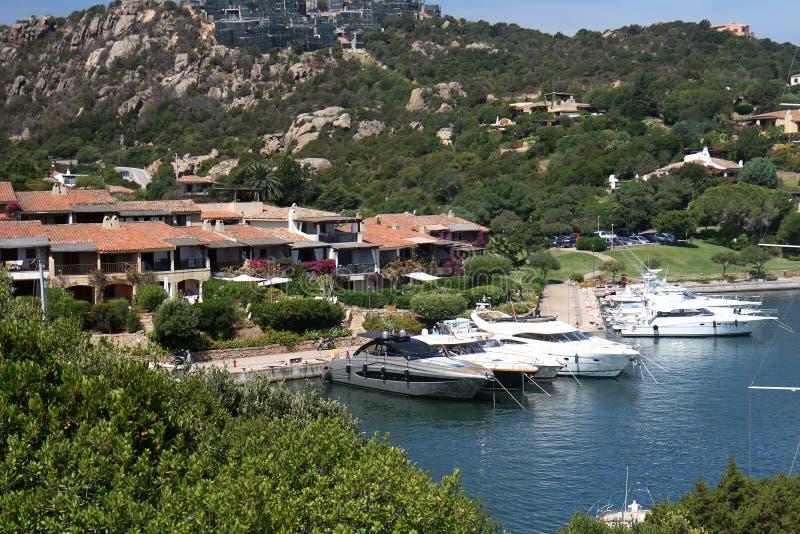cervo porto Сардиния стоковые фотографии rf