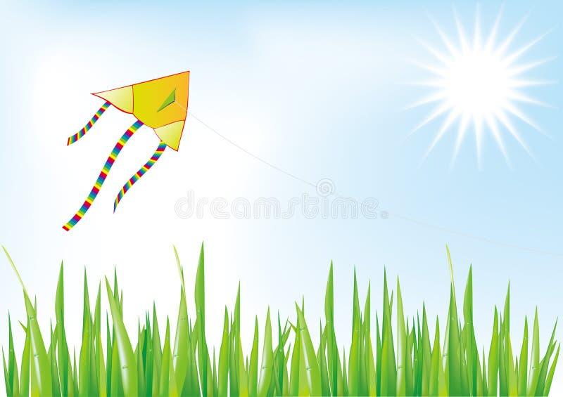Cervo volante illustrazione di stock