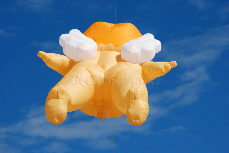 Cervo volante gigante fotografia stock libera da diritti