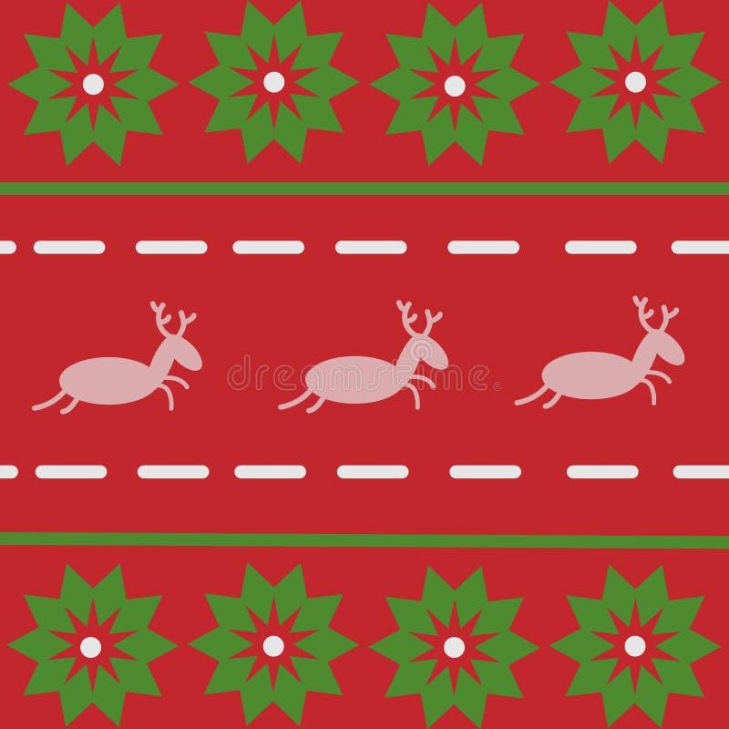 Cervos de Santa Claus Saint Nicholas do avô da arte do vetor do homem do boneco de neve ilustração royalty free