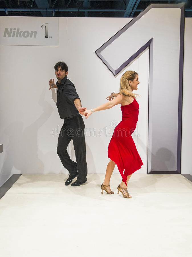 Download CES 2013 editorial stock image. Image of show, dance - 30328104