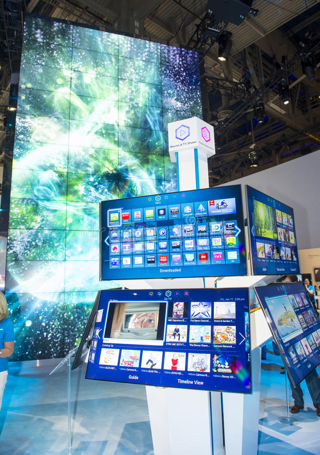 Download CES 2013 editorial image. Image of vegas, television - 30586280