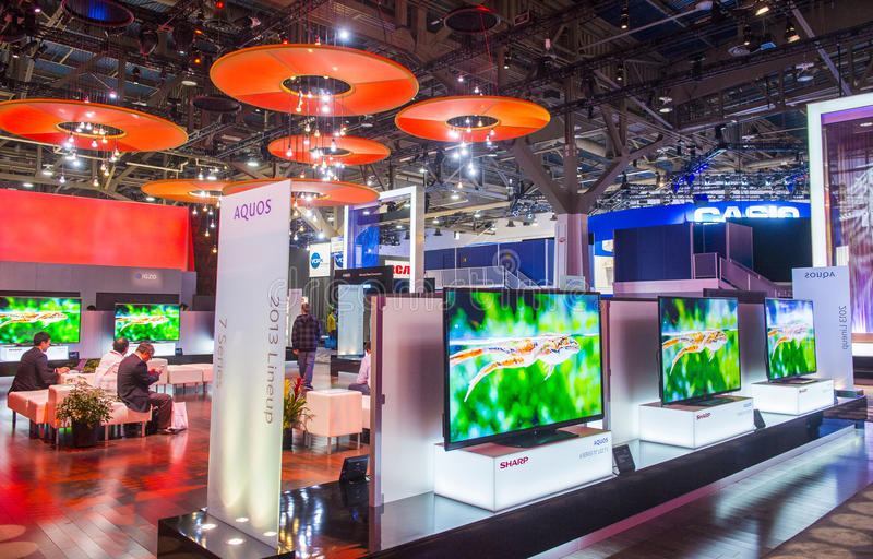 Download CES 2013 editorial stock image. Image of technology, vegas - 30417299