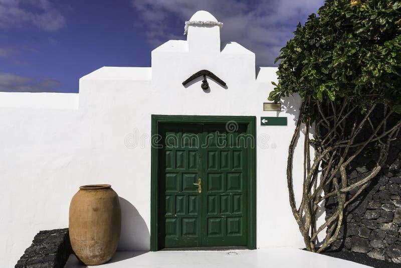 Cesar Marique Foundation, Lanzarote stock afbeeldingen