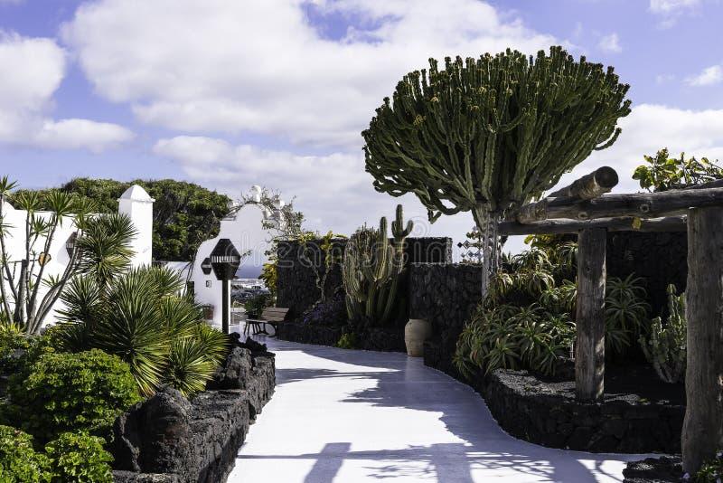 Cesar Marique Foundation, Lanzarote photo stock