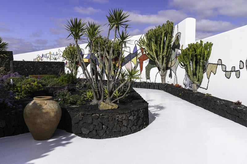 Cesar Marique Foundation, Lanzarote photographie stock libre de droits