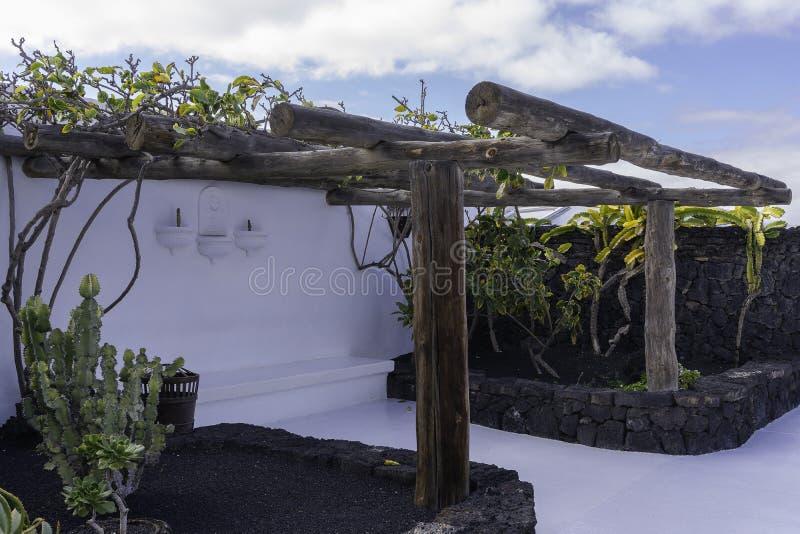 Cesar Marique Foundation, Lanzarote stock foto's