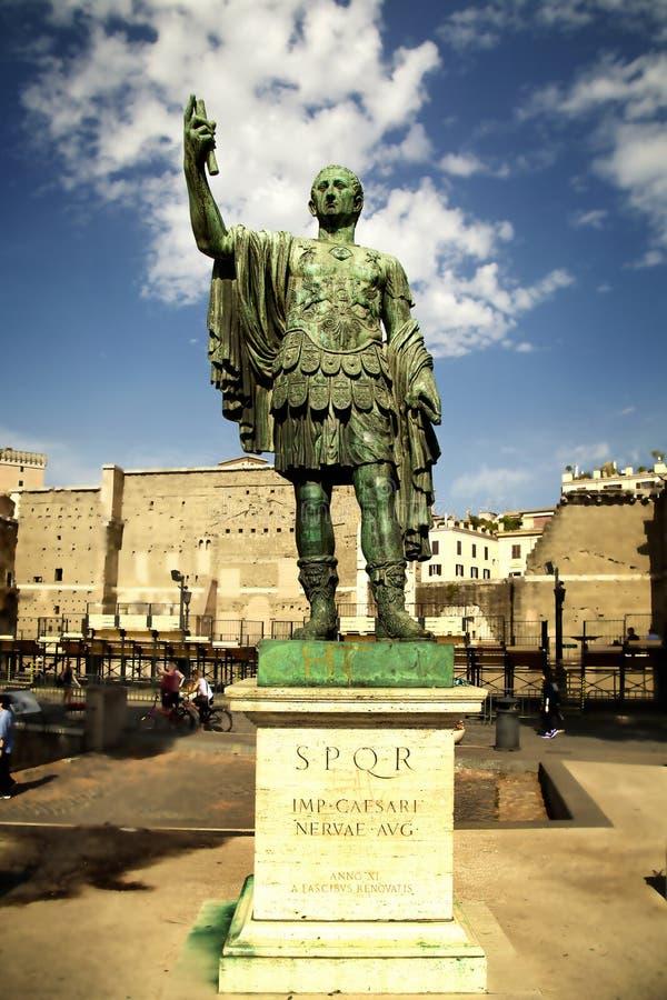 Cesar zabytek obraz royalty free