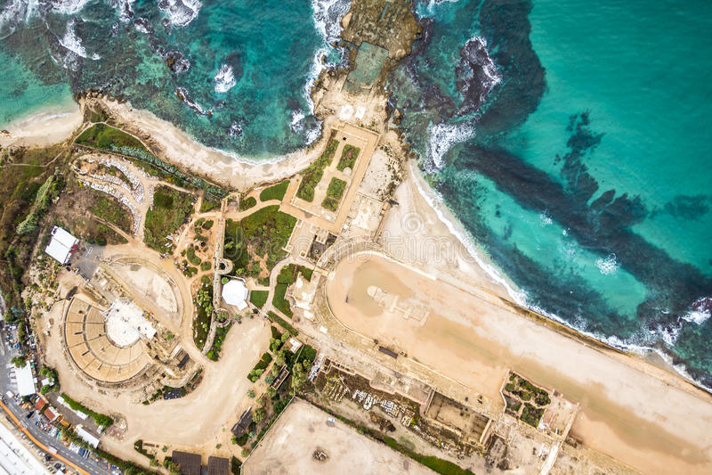 Cesarea National Park, Israel foto de stock royalty free