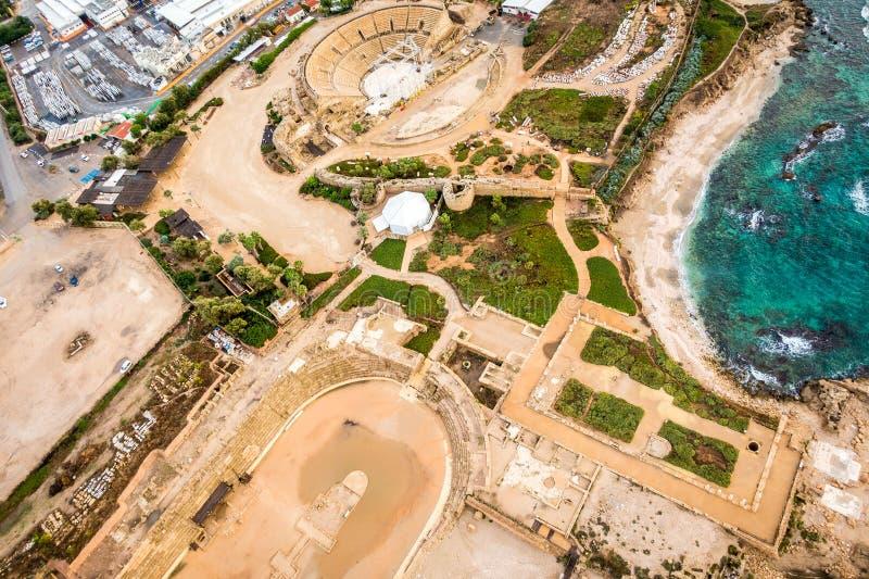 Cesarea National Park, Israel foto de stock