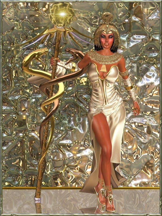 Cesarska bogini ilustracji
