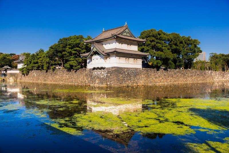 Cesarski pałac, Tokio obraz stock