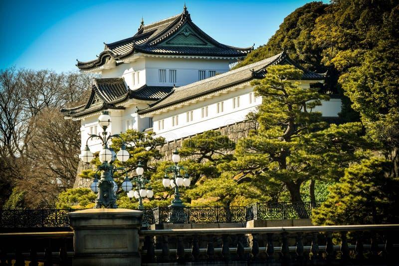 Cesarski pałac Tokio ogród zdjęcia stock
