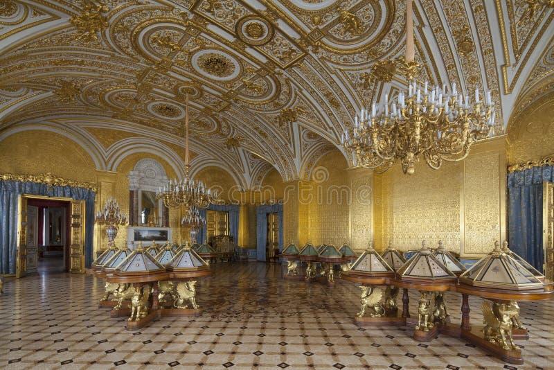 Cesarski pałac w świętym Petersburg obraz stock