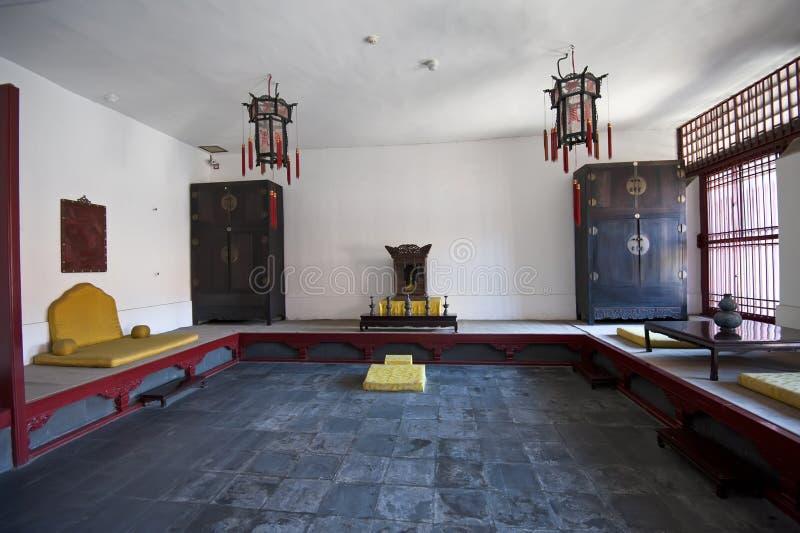 Cesarski Pałac Wnętrza Przygotowania Obraz Royalty Free
