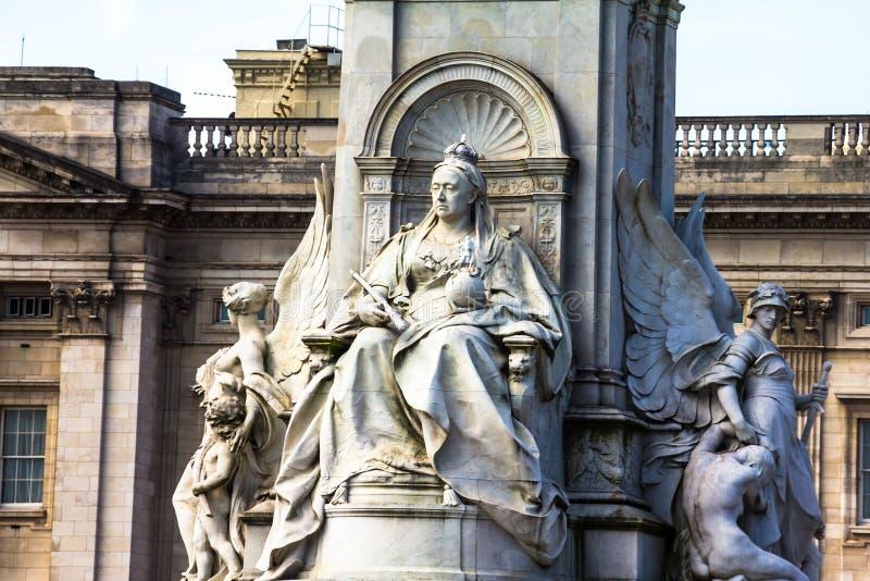 Cesarski pomnik królowa Wiktoria london wielkiej brytanii zdjęcia royalty free