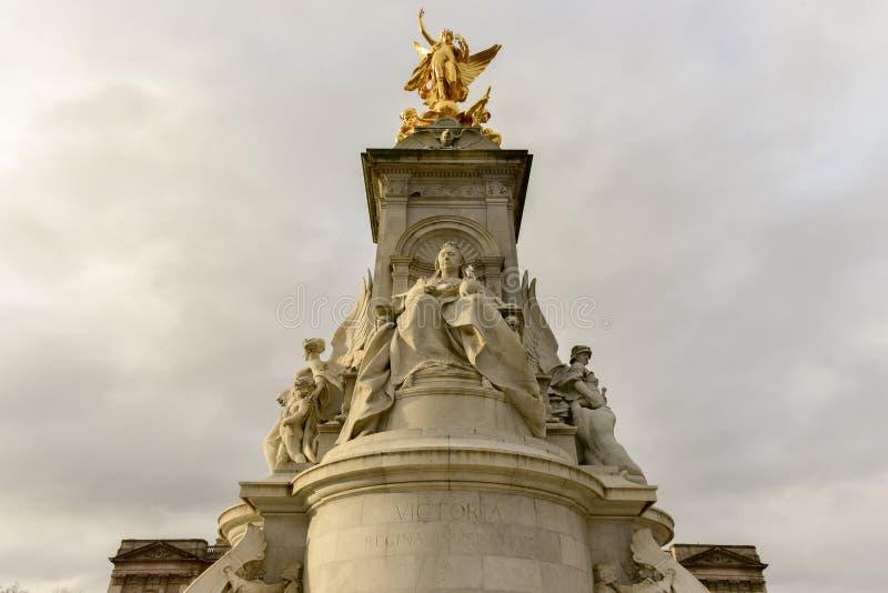 Cesarski pomnik królowa Wiktoria, Londyn - obrazy royalty free