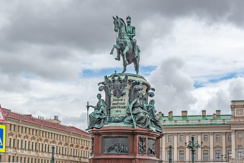 cesarz ja pomnikowy Nicholas zdjęcia royalty free