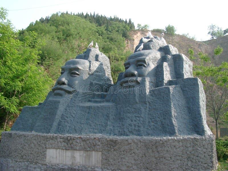 cesarz posąg miejscu 2 obraz royalty free
