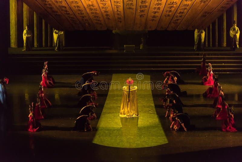 Cesarz W kierunku tronu 2-Imperial pałac zdjęcia royalty free