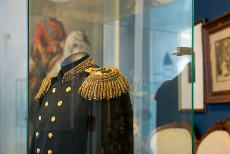 Cesarza ` s munduru kurtka fotografia royalty free