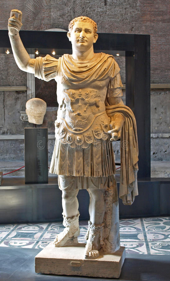 cesarza titus zdjęcie stock